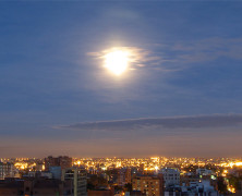 Bogotá al amanecer
