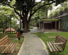 Parque Boyacá, un retazo del Ávila amurallado por edificios