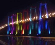 El puente sobre el lago cumple 50 años